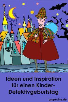Schatzsuche: Das Detektivrätsel 7-10 JahreIn  Landhausen verschwinden wertvolle Bücher aus der Bibliothek. Die Kinder  werden zu Detektiven, lösen Rätsel und erhalten Finderlohn. Feiern Sie  einen supercoolen Kindergeburtstag mit Detektiv...