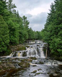 Copper Falls State Park Wisconsin [2382x3540][OC]