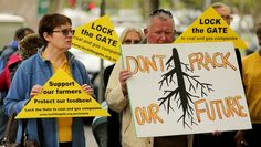 Anti-coal seam gas advocates have criticised the new anti-protest laws.