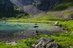 one of the beautiful 6 lakes in the verwallgroup near st.anton am arlberg. the area is called faselfad and is just in front of the glacier from the scheiblermountain Nature, Mountains, Travel, Beautiful, Pictures, Landscapes, Voyage, Trips, Viajes