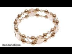 nice DIY Bijoux - How to Make a Stretch Bracelet