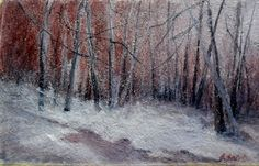 "Branka Božić, ""Warm Winter"" on ArtStack #branka-bozic #art"