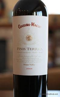 Cousino-Macul Finis Terrae 2008 - Southern Comfort. A harmonious red blend from Chile that is so smooth, soft and warm it's almost comforting. http://www.reversewinesnob.com/2013/08/cousino-macul-finis-terrae.html