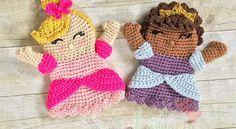 Cute Princess Hand Puppet Free Crochet Pattern - Knit And Crochet Daily
