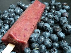 Blueberry Basil Martini Pops Recipe Recipe with 6 ingredients Popsicle Recipes, Fruit Recipes, Vegan Recipes, Vodka Popsicles, Alcoholic Popsicles, Blueberry Martini, Blueberry Popsicles, After Dinner Drinks, Fruit In Season