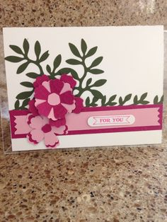 My Cards:  Weekend Challenge for Stampin Gals Gone Wild. April 3, 2015.
