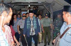 Bupati Lamteng Sidak Ronda di Seputih Surabaya dan Buminabung