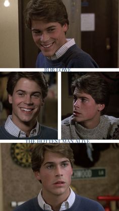 Cute Celebrity Guys, Cute Celebrities, Celebrity Crush, Celebs, Rob Lowe Young, Rob Lowe 80s, Jennifer Lawrence Young, Dirty Dancing, Aesthetic Songs