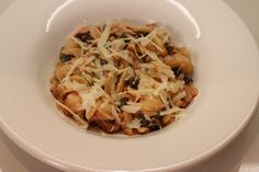 Week Pasta with Cannellini Beans, Sausage and Amaranth Greens by Lexi's Kitchen Beans And Sausage, Yummy Food, Pasta, Kitchen, Recipes, Cooking, Delicious Food, Recipies, Ripped Recipes