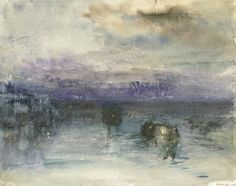 Venice: Moonlight on the Lagoon, c.1840 by  Joseph Mallord William Turner