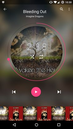 Timber Music Player (Beta) Android App