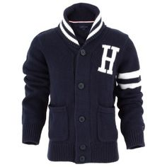#TommyHilfiger kids letterman sweater #preppy