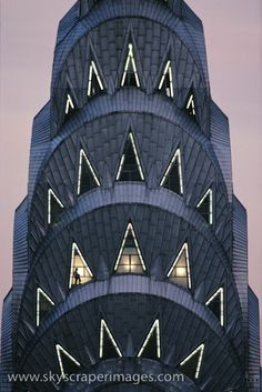 My favoorite building.  I had an apartment in Cliffside Park New Jersey with a gret view of this building! The Chrysler Building, New York City. Great pic!