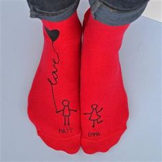 Are you interested in our couple socks? With our valentine's socks you need look no further. 1st Wedding Anniversary Gift, Copper Anniversary Gifts, Cotton Anniversary Gifts, Boyfriend Anniversary Gifts, Boyfriend Gifts, Paper Anniversary, Anniversary Ideas, Wedding Socks, Amai