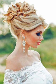 tsvetkovasstudio long wedding updo hairstyle