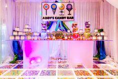 Great party decor ideas from this amazing Bat Mitzvah in Valdosta, GA