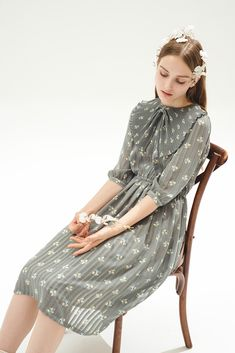 Garden Poetry Dress - Miss Patina - Vintage Inspired Fashion