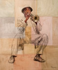 Unknown trumpeter by rpintor on DeviantArt