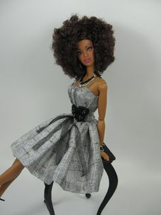 Fashion For FR and Silkstone Barbie by Matisse on Adele Soul Deep - sweet!