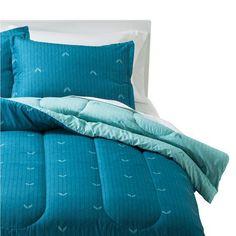 Room Essentials® Herringbone Comforter - Turquoise