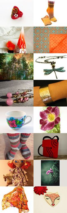 Colorful Mix by Charlotte Lee on Etsy--Pinned with TreasuryPin.com