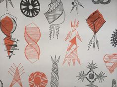 Mini Moderns Equinox wallpaper launches January 2015 - inspired by the traditional craft of corn dollies