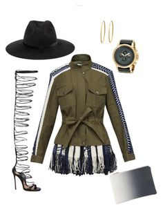 Fringe thing by uloma on Polyvore featuring polyvore, fashion, style, Sea, New York, Dsquared2, Boohoo, Vestal, Yossi Harari and clothing