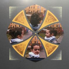 Le chignon de Manon...Gabarit Rosace - LM le scrapbooking Azza Sketch 4, 4 Photos, Scrapbooking Layouts, Mandala, Manon, Image, Pictures, Vintage Travel Posters, Ceiling Rose