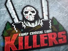 I want a shirt of this!!  Andy Hall Camp Crystal Lake Killers