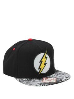 DC Comics The Flash Logo Snapback Hat