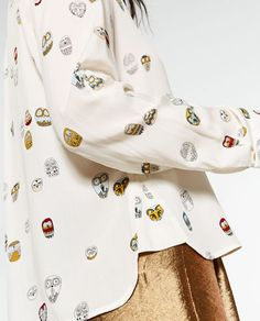 OWL PRINT SHIRT-NEW IN-WOMAN | ZARA Ukraine