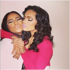Erica Mena and Cyn Santana Discuss Their Fake Lesbian Relationship #LHHNY- http://getmybuzzup.com/wp-content/uploads/2014/01/erica-mena-cyn-550x589.jpg- http://getmybuzzup.com/erica-mena-cyn-santana-discuss-fake-lesbian-relationship-lhhny/- By Sandra Rose  Love & Hip Hop NY stars Erica Mena and Cyn Santana discussed their fake lesbian relationship on New York's Hot 97 Morning Show with Peter Rosenberg and Ebro. It doesn't take a rocket scientist to see that Er