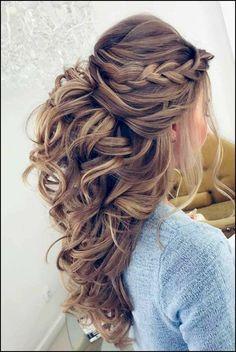 39 Bridal Wedding Hairstyles For Long Hair that will Inspire ... #WeddingHairandMakeupTips