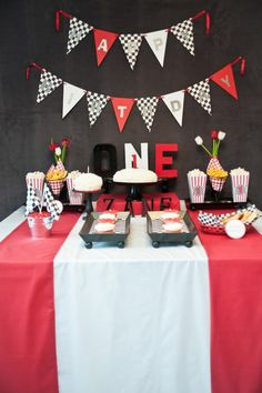 Retro Cars Party Birthday Party Ideas Themed birthday parties