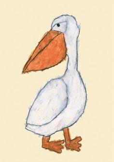Pelican by Japanese illustrator - Yusuke Yonezu