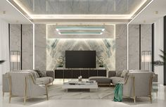 Explore the best ideas for luxurious Marble Wall for Living Room at The Architecture Design. Visit for more ideas about Marble Wall for Living Room. Modern White Living Room, Modern Wall, Marble Wall, Marble Tiles, India House, Tv Wall Decor, Room Decor, Tv Wall Design, Lounge Design