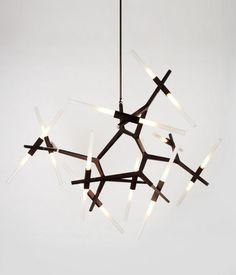 Agnes Chandelier by Lindsey Adams Adelman for Roll & Hill