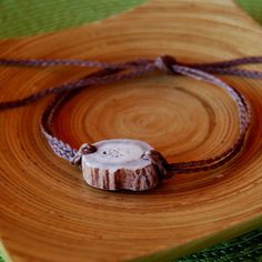 Axis deer antler bracelet or anklet   MakamaeOMolokai - Jewelry on ArtFire