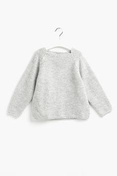 Jersey gris claro - Sainte Claire | Ropa de niñas, niños y bebés