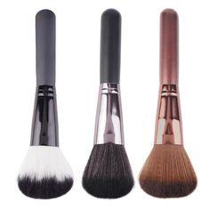 1 개 maange 전문 아름다움 얼굴 분말 라운드 블러쉬 브러쉬 메이크업 브러쉬 화장품 도구 드롭 배송 도매