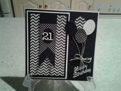 Image result for black and white card ideas