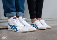 onitsuka tiger mexico mid runner white