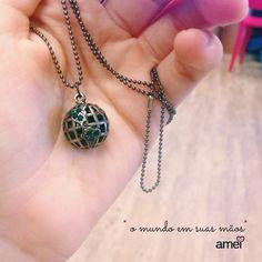 @loja_amei #lojaamei #acessorio #mundo #lindo #etiquetaamei #colar