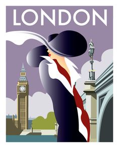 """Newest Cost-Free 60 Inspiring Designs in the Style of Art Deco Travel Posters Ideas """"The Wonderful – what seems like pomp and luxurious is associated with extravagant life Art Deco Artwork, Art Deco Paintings, Art Deco Posters, Art Art, Art Deco Illustration, Retro Kunst, Retro Art, Motif Art Deco, Art Deco Design"""