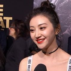 the great wall movie,lin mae | Jing Tian On Playing Commander Lin Mae In 'The Great Wall' | Access ...