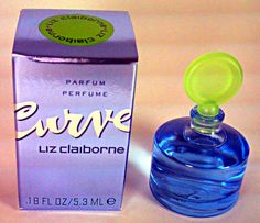 Liz Claiborne Miniature Perfume Bottle  (Curve Mini Parfum)