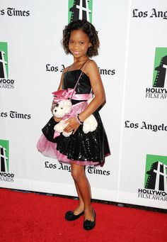 Quvenzhane' Wallis/ 9 years old  ---youngest black actress nominated for Best Actress EVER!!!