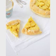 Ananas-Galette / Galette with pineapple