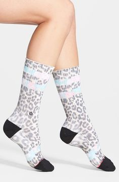 Stance 'Meowza' Socks available at #Nordstrom