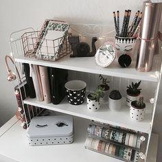 Update of my ikea shelf :) #ikea #plannergirl #planning #filofax #plannerlove #missetoile #riflepaper #katespadeplanner #katespade @missetoileofficial @riflepaperco @ikeadeutschland